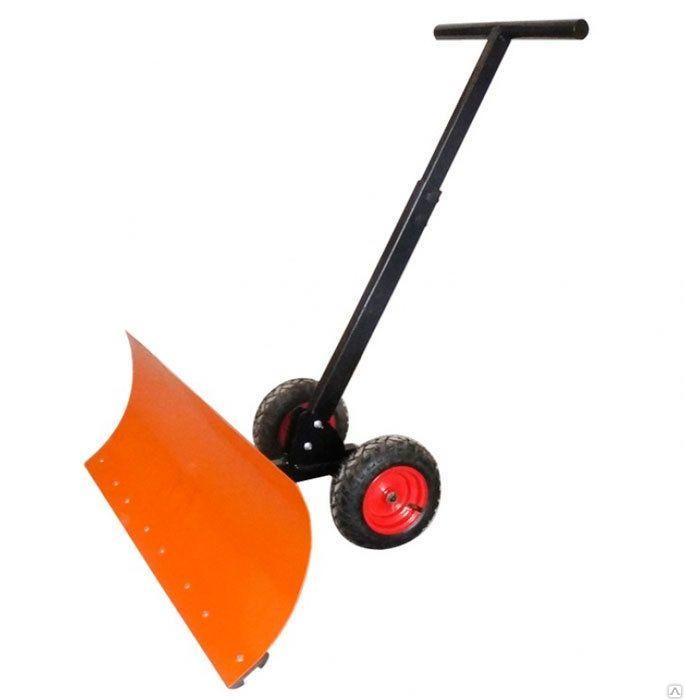 Лопата для уборки снега своими руками с отвалом