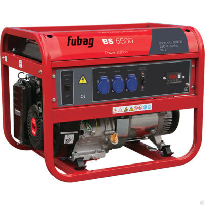 Generator_FUBAG_BS_5500