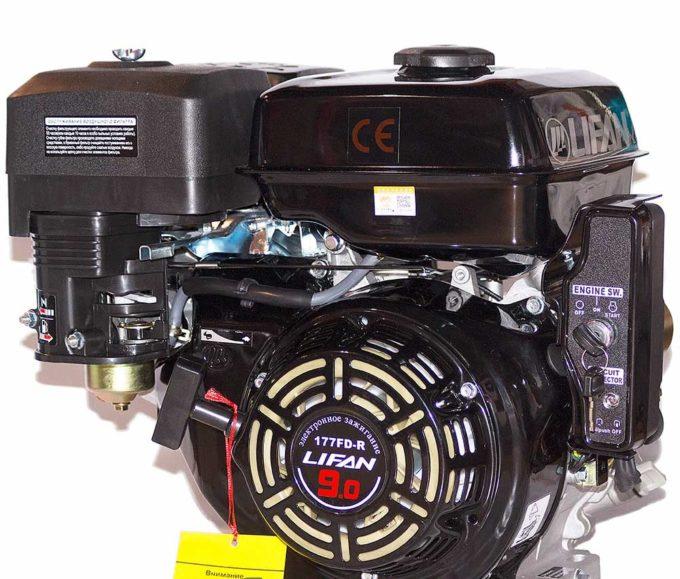 Двигатель LIFAN 177FD 4-такт , 9,0 л с , эл стартер
